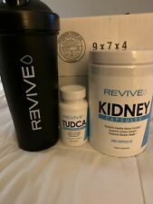Revive Kidney Capsules and Tudca Tauroursodeoxycholic Acid