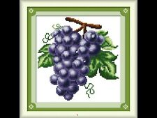 DMC COUNTED CROSS STITCH KITS FRUIT PATTERN 14CT NEEDLEWORK EMBROIDERY PAINTING