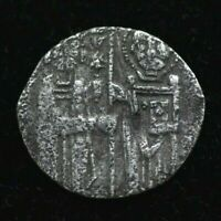 RARE VENICE Medieval XII CENT. ENRICO DANDOLO Coin SILVER GROSSO