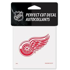 "Detroit Red Wings Perfect Cut 4""x4"" Color Decal [NEW] Auto Sticker Emblem NHL"