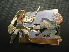 DISNEY DSF PIRATES OF THE CARIBBEAN AT WORLD'S END SLIDING FIGHTER PIN LE 300