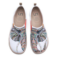 UIN Loafer Shoes Canvas Toledo Artistic Casual Travel Ganesha Slip-On Fun Uinsex