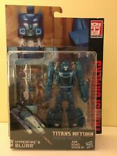 Transformers Titans Return (Deluxe) Blurr - Mint in Sealed Package