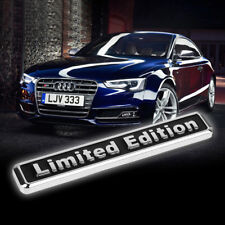 Modern 3D Metal LIMITED EDITION Car Auto Rear Lid Fender Trunk Sticker Emblem