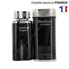 Black Soul Ted Lapidus pour homme Eau de Toilette 100ml +1 Échantillon