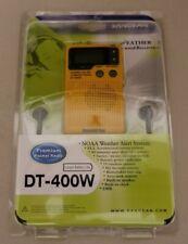 Sangean Pocket Radio AM/ FM Digital Weather Alert Pocket-Size Automatic Shut Off