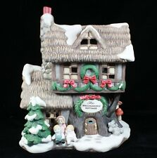 Fitz & Floyd Enchanted Forest Collection, Holiday Hamlet - Dollmakers' Cottage