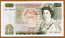 Great Britain 50 pounds (1991-1993) P-381 (381c) QEII, UNC > England