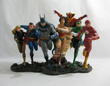 2008 ✧ Statua DC Direct JUSTICE LEAGUE AMERICA ✧ BATMAN SUPERMAN completo in scatola