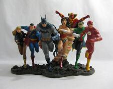 2008 DC Direct ✧ JUSTICE LEAGUE AMERICA ✧ Batman Superman Statue Complete BOXED