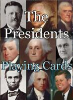 The Presidents Playing Cards Playing Cards Deck of 52 Cards Made in USA