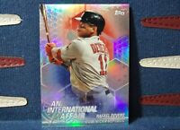 2018 Topps Chrome RAFAEL DEVERS RC ROOKIE Refractor #IA-RD Boston Red Sox
