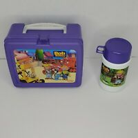 Vintage Thermos Bob The Builder Lunch Box With Thermos c2001