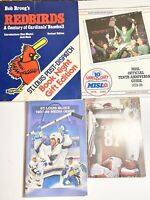 St Louis Sports 1980s media guides Cardinals Football Blues Hockey MISL