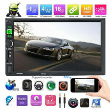 Android 8.1 Double 2Din 7inch Quad Core Car Radio In Dash Stereo GPS 4G OBDII