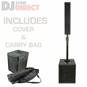CITRONIC MONOLITH II Active Powerful Compact Linear  DJ PA Speaker system + Case