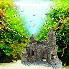 Aquarium Ornaments Mini Castle Towers Decorations Fish Tank Nontoxic Accessories