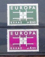 Greece 1963 Europa Set MNH