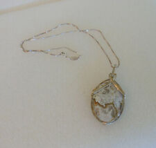 Paolo Romeo Sterling Chain & Pendant