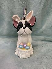 French Bulldog Easter Soap Dispenser8 inches tall