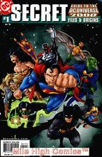 SECRET FILES & ORIGINS GUIDE TO DCU 2000 #1 Very Fine Comics Book