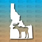 "Idaho State Moose 5"" Hike Camp Custom Vinyl Decal Sticker"