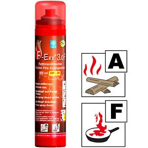 F-Exx® 3.0 F Fettbrandlöscher und Festbrand-Feuerlöscher für Küche und Grill