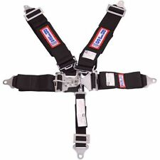 RJS Safety 1130201 Wrap Around 5 Point Latch and Link Harness (Black)