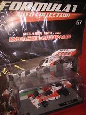 1/43 McLaren M23 Fittipaldi #5 1974 + Brochure N 67 Formula 1 Auto Collection