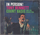 In Person! Tony Bennet & Count Basie & His Orchestra CD FASTPOST