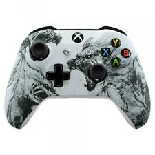 """Wolf"" Xbox One S / X Rapid Fire Modded Controller for COD WW2 Destiny 2"
