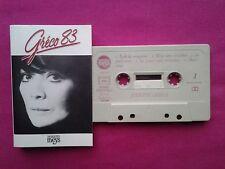Rare K 7 / Cassette / Juliette Greco – Gréco 83 / FR 1983