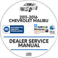 Chevrolet Malibu 2011-2016 Factory Service Repair Manual