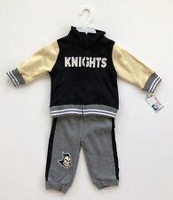 UCF Knights Infants Toddlers 6-12 Months Aviator Fleece Jacket & Pants Set NWT