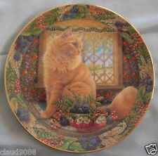 "ROYAL DOULTON ""CATS IN AUTUMN WINDOW DANDELION""  P473590 BOXED  MINT IN BOX"