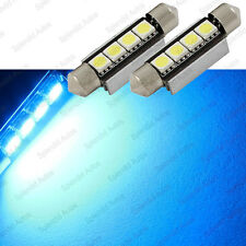 Ultra Blue 4-Smd Error Free 578 211-2 6411 Led Dome Light (2 Pieces)(Fits: Neon)