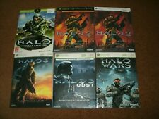 Halo 1, 2, 2 PC, 3, ODST, Reach, 4 And Halo Wars Official Strategy Guide Lot