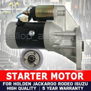 Rodeo TF Starter Motor Fit Holden 4WD Diesel 2.8L 4JB1T & 2.5L 4JA1 88-04 ISUZU