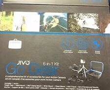 JIVO GO GEAR 6 IN 1 KIT FOR GOPRO AND ACTION CAMERASMOUNTS & ACCESSORIES