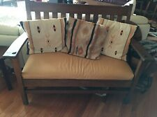J.M. Young #420 Mission Settee circa 1912-1920