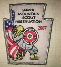 Hawk Mountain Scout Reservation 2007 Patch - Boy Scouts - Pennsylvania