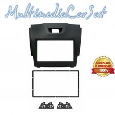 Kit fissaggio Phonocar 2DIN colore nero ISUZU D-MAX 12in poi 03644