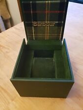 genuine Barbour Walker EMPTY watch box