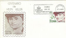 SPD FDC España Hellen Keller Edifil# 2574 1980