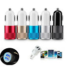 Universal 2.1A + 1A 2 Port USB 12V Dual Car Charger Socket For Android Phone