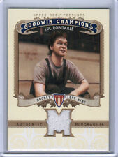 2012 UD GOODWIN CHAMPIONS LUC ROBITAILLE M-LR MEMORABILIA JERSEY CARD LA KINGS