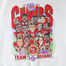 Vtg'89 San Francisco 49ers Team Of The Decade Super Bowl Champions T-Shirt G394