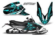 Yamaha APEX XTX Decal Wrap Graphic Kit Sled Snowmobile 2006-2011 NIGHTWOLF MINT