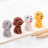 1pc Cute Dog Rubber Eraser Art School Supplies Office Stationery Suppl Px