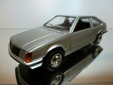 MEBETOYS 6787 OPEL MONZA - SILVER 1:25 - GOOD CONDITION - REPAINTED